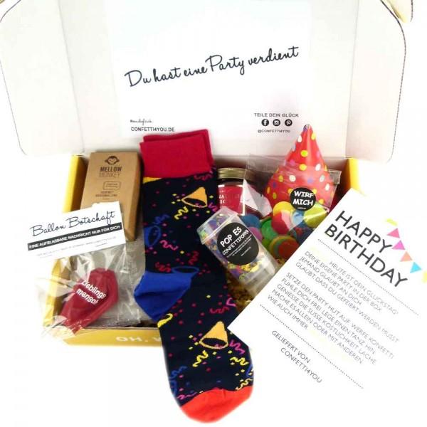 Geschenk Paket Geburtstag Frau