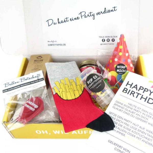 Geschenk Paket Geburtstag Mann