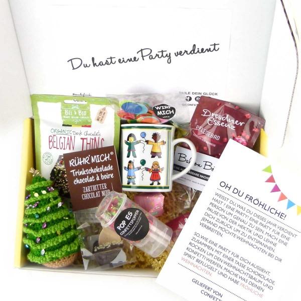 Geschenkpaket Weihnachten Oh DU fröhliche